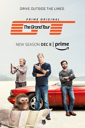 The Grand Tour season 2 poster Amazon channel