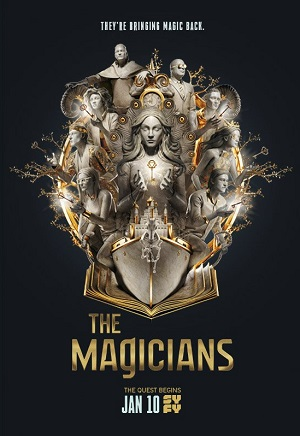 The Magicians season 3 poster Syfy channel
