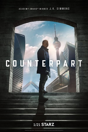 Counterpart season 1 poster STARZ channel