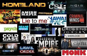 Crime TV shows poster