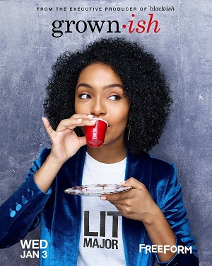 Grown-ish season 1 poster Freeform channel