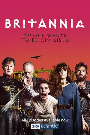 Britannia season 1 poster Sky Atlantic channel