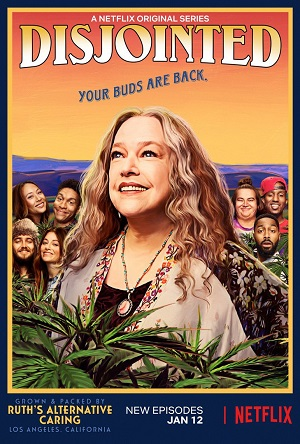 Disjointed season 1 poster Netflix channel