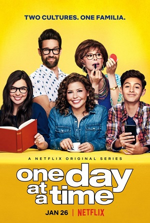 One Day at a Time season 2 poster Netflix channel