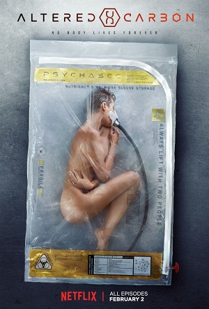 Altered Carbon season 1 poster Netflix channel