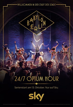 Babylon Berlin season 2 poster Sky Atlantic channel