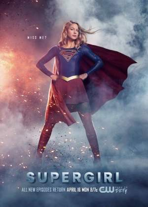 Supergirl season 3 poster The CW channel