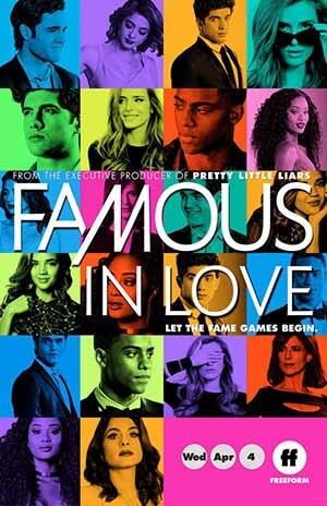 Famous in Love season 2 poster Freeform channel
