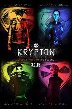 Krypton season 1 poster SyFy channel