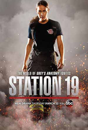 Station 19 season 1 poster ABC channel