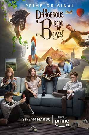 The Dangerous Book for Boys season 1 poster Amazon Prime Video channel