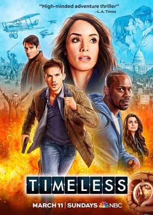 Timeless season 2 poster NBC channel