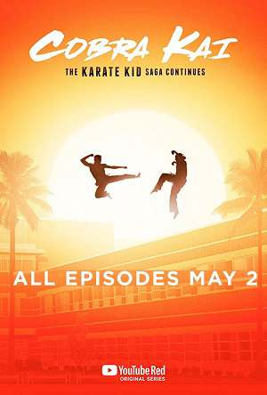 Cobra Kai season 1 poster YouTube Red Network