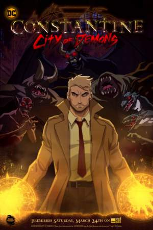 Constantine: City of Demons season 1 poster The CW channel
