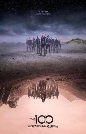 The 100 season 5 poster The CW channel