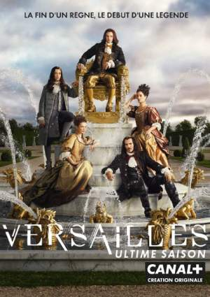Versailles season 3 poster Canal+ channel