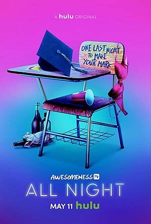 All Night season 1 poster Hulu channel