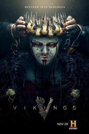 Vikings season 5 (part 2) poster History channel