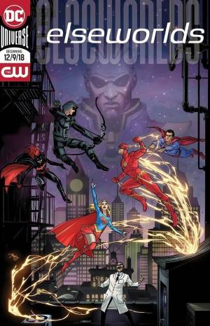 Elseworlds cressover The CW the newest poster