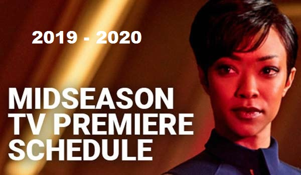 Winter TV Schedule 2019 - 2020
