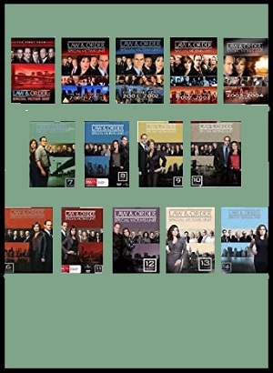 Law & Order Special Victims Unit Seasons 1-14